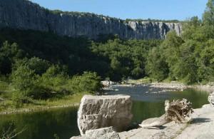 Ardèche, regio Rhône-Alpes, Frankrijk